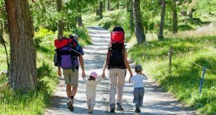 Senderismo en familia