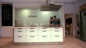Local La mesa Málaga, pensado para el disfrute de los más pequeños en la cocina