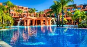 Una de las 5 magníficas piscina en Barceló Sancti Petri para el uso y disfrute de toda la familia.