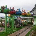 Divertido tren infantil, donde pasar un gran momento