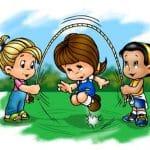 Jugar y compartir momentos de nuestra infancia con nuestros niños.
