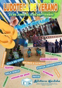 Ludoteca durante todo el año y Ludoteca de verano, para la diversión, entretenimiento y aprendizaje de los más pequeños.
