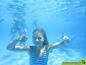 rocodromo, piscina y tiro con arco son algunas de las actividades al aire libre que realizarán los niños pura Diversión