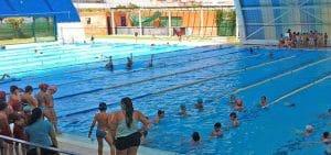 Magnífico día en familia, grandes y pequeños, en las piscinas públicas de Sevilla.