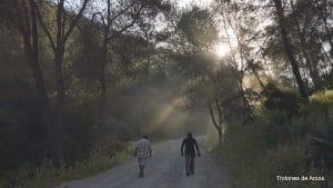 Realización de actividades al aire libre por los diferentes parajes naturales que ofrece la serranía de Sevilla, que nos ofrece Trotavía
