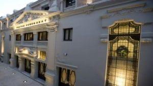 conocido teatro en pleno centro de Málaga.