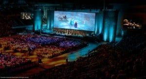 concierto de disney donde participaran los personajes principales de la película acompañados de una orquesta en directo