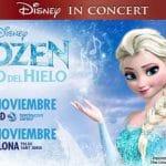 Fantasía para las peques con Disney en concierto con Frozen el Reino de Hielo en Madrid.