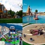 Diversión y juegos sin parar en Parques Infantiles dentro y fuera de España.