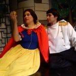 Músical y animación con Blancanieves en el Teatro Alameda en Málaga.