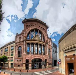 teatro principal, donde se llevará a cabo el espectáculo de Blancanieves