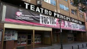 gran teatro en pleno centro de Madrid, donde se representan mágico espectáculo