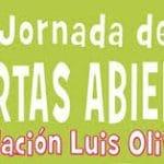 Jornada de puertas abiertas en la Fundación Luis Olivares en Málaga.