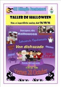 divertido y terrorífico taller de halloween para peques, reposteria, trucos y tratos, disfraces, y mucho más