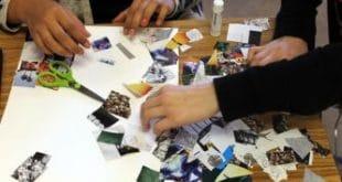 taller para niños dónde impartirán técnicas de collage