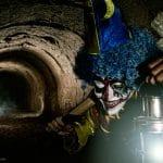 Espeluznante noche de Halloween en el Túnel del Terror en Madrid.