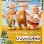 Jabetín teatro y el cuento clásico de Los tres cerditos en Sevilla.