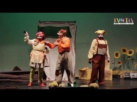 un cuento, donde en entretenimiento está asegurado para grande y pequeños, de la mano de Jabetín Teatro