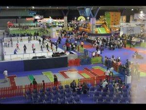 Pura diversión y entretenimiento de principio a fin en la muestra infantil. horas de diversión