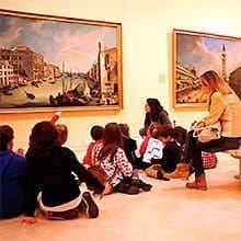 actividad cultural y divertida para los peques, conocer cuadros a través de actividades