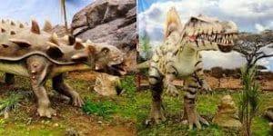 expo jurásico, descubrir y jugar en el mundo de los dinosaurios