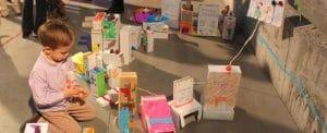 Los niños aprenderán mediante el juego y la diversión a construir, medir, arquitectura, matematicas y mucho más