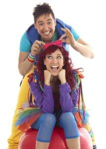 artistas y actores de cantajuegos y muchos espectáculos y conciertos para niños.