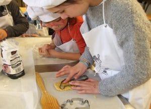 Los niños en el curso de cocina podrán aprenderán recetas que compartir con su familia