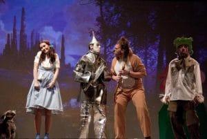 La pequeña Dorothy y sus nuevos amigos pasan por diferentes aventuras hasta llegar a ver al Mago que le ayudará