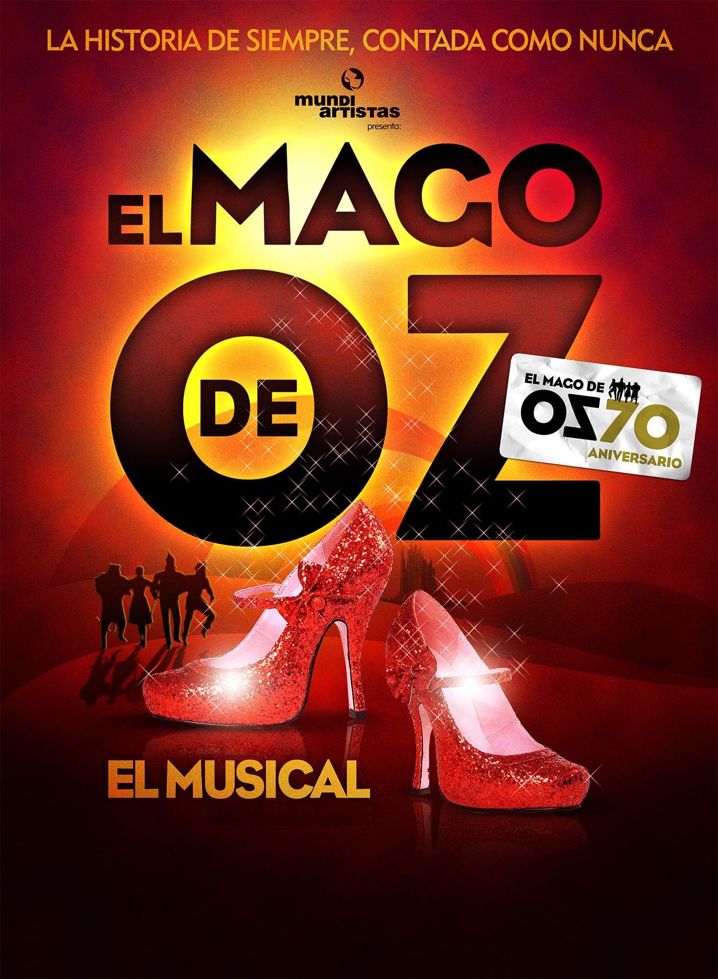 El Mago de Oz: el musical, una obra de la película