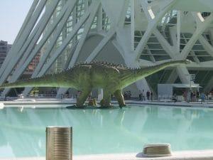expo dinosaruios en el museo de las artes y las ciencias