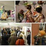 Visitar las escenas de las fallas en Exposición del Ninot 2017 en Valencia.