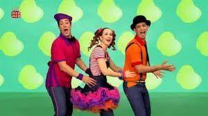 excomponentes de cantajuegos que crean espectáculos con canciones y bailes para los peques, espectáculo Pica pica