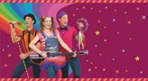 excomponentes de cantajuegos que crean espectáculos con canciones y bailes para los peques