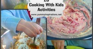 campamento para niños dónde se mezclan cocina y todo lo relacionado con este arte y practicar inglés