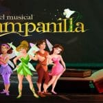 """Música y baile con el espectáculo """"Campanilla, el musical. El origen"""" en Almería."""