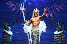 el papá de la joven sirena, rey de los mares