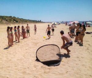 salidas y excursiones a los parajes naturales que ofrece la costa de Cádiz como son sus playas
