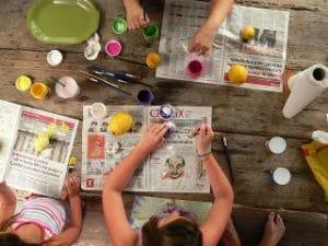los peques podrán disfrutar de talleres de manualidades dónde divertirse y desplegar todas sus habilidades