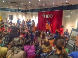 los peques podrán disfrutar de actividades diversas o conciertos con artistas infantiles