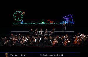 espectáculo con títeres dónde los peques disfrutarán y se divertirán conociendo los diferentes instrumentos que componen la orquesta