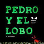 """Espectáculo con títeres con """"Pedro y el lobo"""" en Granada."""