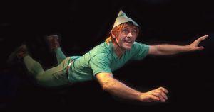 Peter Pan puede volar y vivir divertidas aventuras