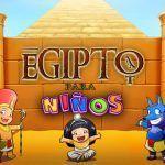 Taller infantil de Egiptología en La Térmica en Málaga.