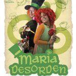 """Teatro infantil en La Cochera con """"María Desorden"""" en Málaga."""