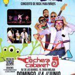 Nuevo concierto de Quimi Rock en La Cochera en Málaga.