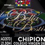 """""""La Bella y La Bestia"""" el musical en Chipiona (Cádiz)."""
