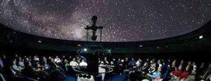 durante la vista al planetario podrán conocer las diferentes estrellas del cielo y los planetas