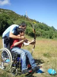 personas con discapacidad podrán disfrutar de este campamento con las diferentes actividades al aire libre