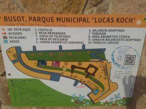 mapa localización y ubicación del parque infantil de integración